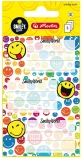 Etichete scolare SmileyWorld Rainbow 9 buc/set Herlitz