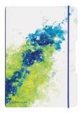 Caiet My.Book Flex A4 2x40 file dictando+patratele Splash lemon Herlitz