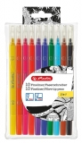 Fineliner 2in1 set 10 culori asortate Herlitz
