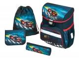 Ghiozdan echipat Loop Plus Super Racer Herlitz