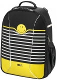 Rucsac Be.Bag ergonomic Airgo Smiley World Black Stripes Herlitz