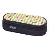 Necessaire oval SmileyWorld Rainbow Faces Herlitz