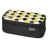 Necessaire Be.Bag Beat Box Smiley dungi negre Herlitz