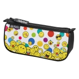 Necessaire triunghiular sport SmileyWorld Rainbow Faces Herlitz