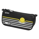 Necessaire triunghiular sport SmileyWorld Black Stripes Herlitz