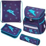 Ghiozdan echipat Loop Plus Dolphin Herlitz
