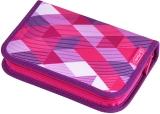 Penar echipat, 31 piese, Pink Cubes Herlitz