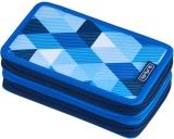 Penar echipat 3 compartimente, 31 piese, Blue Cubes Herlitz