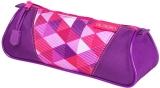 Necessaire triunghiular Pink Cubes Herlitz