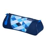 Necessaire triunghiular Blue Cubes Herlitz