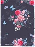 Mapa A4 PP cu elastic Ladylike Flowers Herlitz