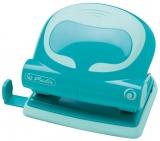 Perforator birou 20 coli, 2.0 mm, ergonomic, turcoaz Herlitz