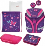 Ghiozdan fete, echipat, Softflex Plus Butterfly Herlitz