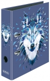 Biblioraft Max.File A4, 8 cm, Wild Animals Wolf Herlitz