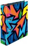 Biblioraft Max.File A4, 8 cm, Neon Art Herlitz