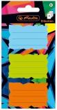Etichete scolare Neon Art 9 buc/set Herlitz
