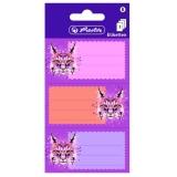 Etichete scolare Wild Animals lynx 9 buc/set Herlitz
