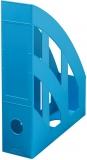 Suport dosare A4 plastic, culoare azuriu, Blue Angel Greenline Herlitz