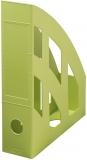 Suport dosare A4 plastic, culoare verde, seria Blue Angel Greenline Herlitz