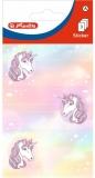 Etichete scolare motiv Unicorn, 9 buc/set, Herlitz