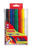 Carioca dubla Magic 10 buc/set Herlitz