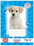Set 20 caiete A5 Tip II Pretty Pets Herlitz