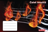 Set 5 caiete muzica 24 file Rock your School Herlitz