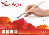 Bloc desen A3 15 file 230 g/mp Herlitz