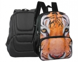 Rucsac cu 2 compartimente Eyes of the wild Tigru Herlitz