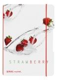 Caiet My.book Flex A5 40 file patratele Fresh fruit capsuni Herlitz