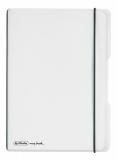 Caiet My.book Flex A5 2x40f dictando+patratele transparent Herlitz