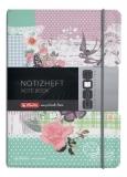 Caiet My.book Flex A6 40f dictando Lady like fluture Herlitz