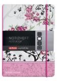 Caiet My.book Flex A6 40f patratele Lady like flori Herlitz