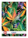 Set 5 caiete A4 80 file matematica Tropical Herlitz