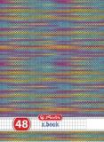 Set 10 Caiete A4 48 file matematica Caleidoscop Herlitz