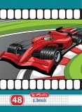 Set 10 caiete A5 48 file matematica Cars Herlitz