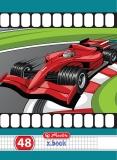 Caiet A5 48 file matematica Cars Herlitz