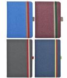 Bloc notes Ivory B-Band 9 x 14 cm, 192 file, velin, diverse culori Herlitz