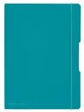 Caiet A4 My.Book Flex 2x40 file dictando+patratele coperta turcoaz elastic turcoaz Herlitz