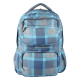 Rucsac cu un compartiment Foggy Blue checkers Herlitz