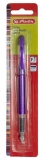Stilou new basic violet penita F blister Herlitz