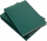 Agenda Herlitz, A5, zilnica, datata, verde smarald, 2022