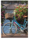 Agenda Herlitz A5 datata zilnica bicycle 2019