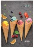 Agenda Herlitz A5 datata zilnica ice cream 2019