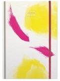 Agenda Herlitz A5 datata zilnic pink yellow 2019