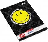 Caiet A5, 48 file, 70g/mp, dictando, Smiley Herlitz