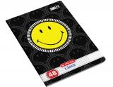 Caiet A5, 48 file, 70g/mp, matematica, Smiley Herlitz