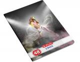 Caiet A5, 48 file, 70g/mp, matematica, Dance Herlitz