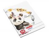 Caiet A5, 48 file, 70g/mp, velin, Little Friends Herlitz