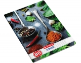 Caiet A5, 80 file, 70g/mp, dictando, Spices Herlitz